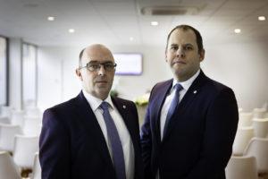 Peter Michielsen en Hendrik Van Wichelen
